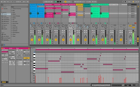 ABLETON Live V10 Suite Software - V1-9 Standart UPGRADE