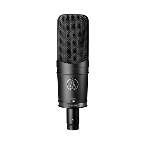 Audio Technica AT4050SM Multi-pattern condenser  large diaphragm microphone with AT8449 shock mount