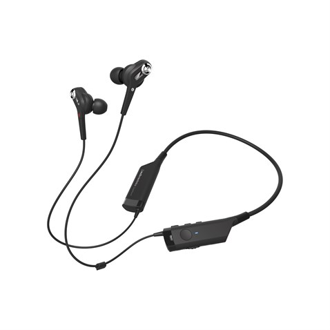 Audio-Technica ATH-ANC40BT QuietPoint® Active Noise-Cancelling Wireless In-Ear Headphones