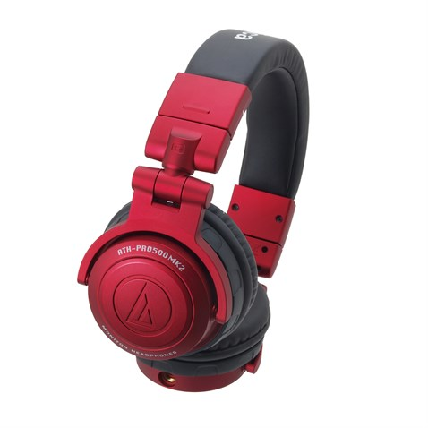 Audio Technica ATH-PRO500MK2RD Professional dj monitor headphones