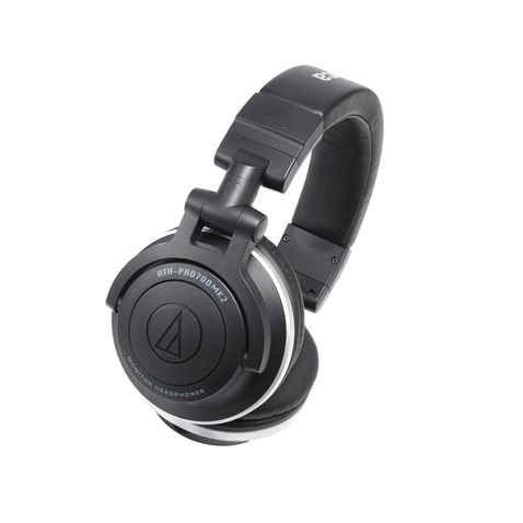 Audio Technica ATH-PRO700MK2 Monitor/DJ Headphones, Closed-back dynamic