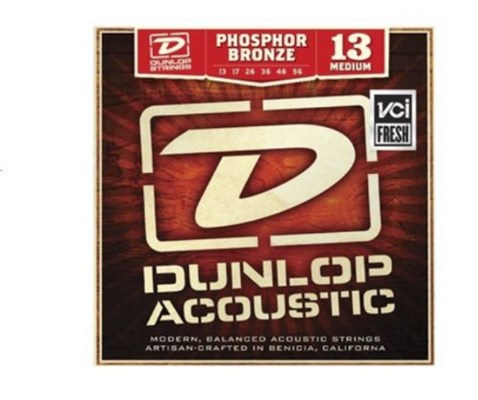 Dunlop DAP32 Phosphor Bronze Single Akustik Gitar Teli .032