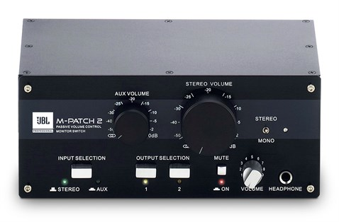 Jbj M-patch2 Multi-Channel Passive Stereo Controller and Input/Output Switch Box