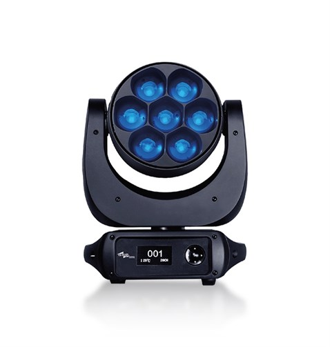 Ssp Audio SS646XCE 4in1 7x40W Led Moving Head Zoom Wash