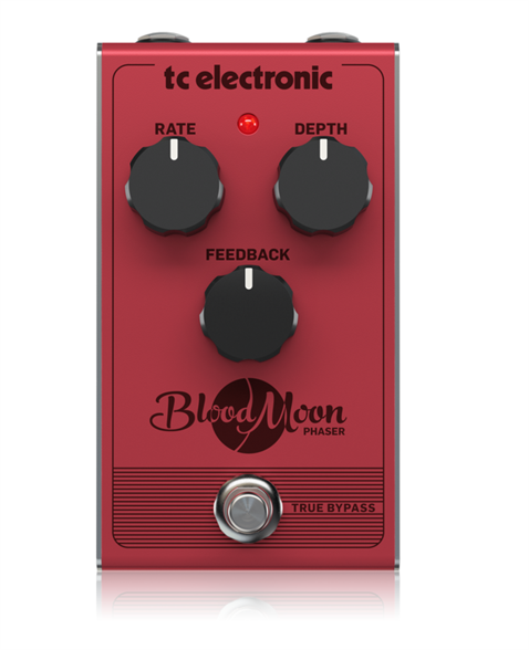 TC Electronic Blood Moon Phaser Vintage-Stili Phaser Pedal