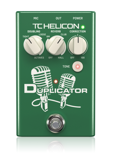 TC Helicon Duplicator Vocal Efekt Pedal