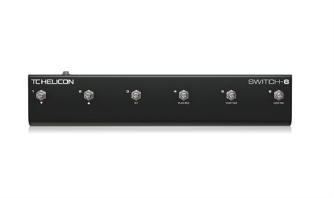 TC Helicon Switch-6 Kontrol Pedalı