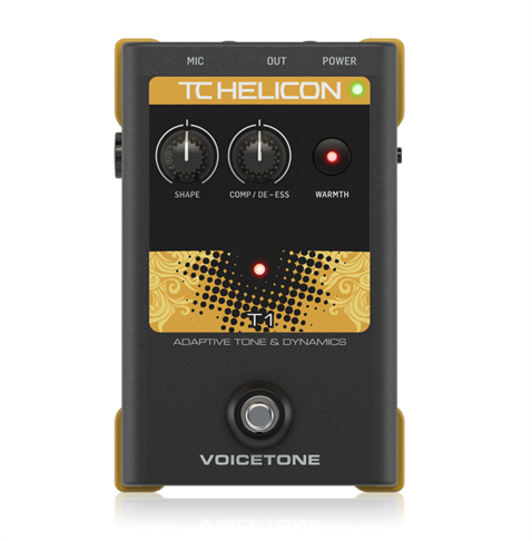 TC Helicon VoiceTone T1 Vocal Pedal